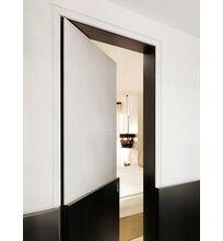 Невидимая дверь со стеновой панелью, Скрытая дверь со стеновой панелью, Дверь скрытого монтажа со стеновой панелью