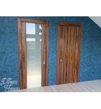 шпонированные двери фото