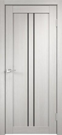 Linea-2-Дуб белый-Лакобель Чёрное #0